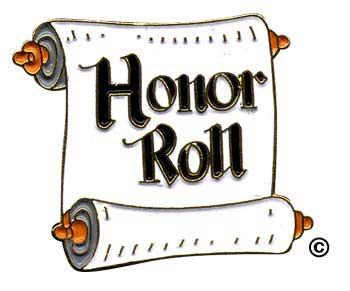 Honor Roll Scroll
